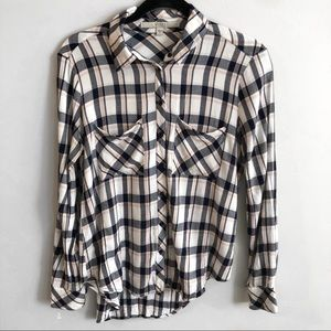 GUESS Plaid Burton Up Shirt